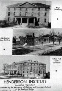 Henderson Institute Established